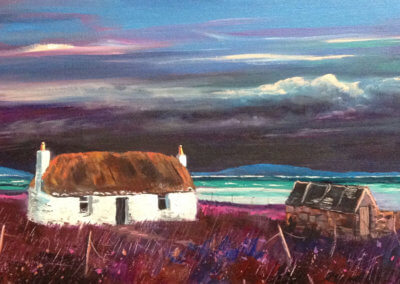 Uist Cottage painting copy