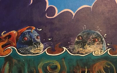 Seals in the Kelp