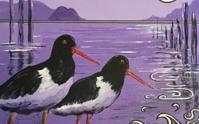 Silver Moon – Oyster Catchers
