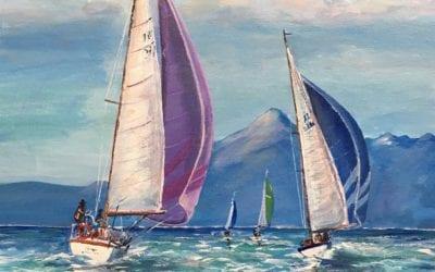 Sailing around Arran